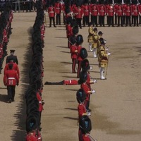 Five soldiers faint in the heat at Trooping the Colour parade