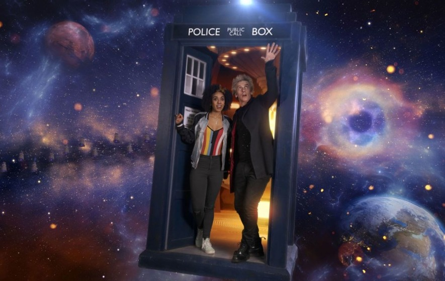 See the first look Doctor Who picture of The Master and Missy