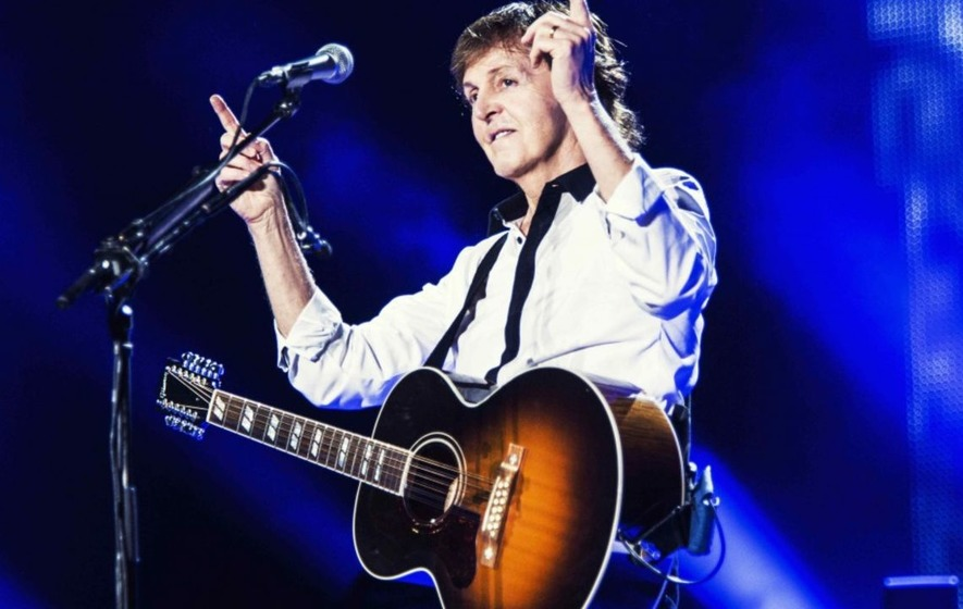 Say, say, say! Sir Paul McCartney celebrating 75th birthday