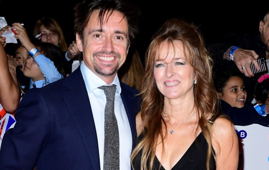 Second serious crash saw Richard Hammond's wife 'almost go to pieces'