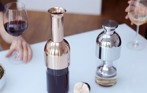 This incredible decanter will keep your wine fresh for up to two weeks