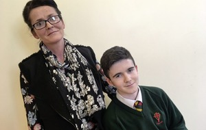Leona O'Neill: The boy who's going for sporting gold despite near deadly tree fall