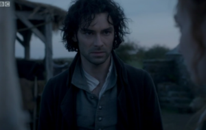 Poldark viewers hot and bothered after Aidan Turner's latest topless scene
