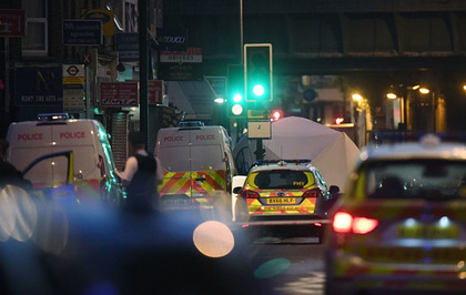 123b5338480348 Finsbury Park mosque attack  One dead and eight in hospital after van  driven at crowd