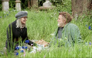 Diane Keaton says Irish actor Brendan Gleeson a big, generous, brilliant man