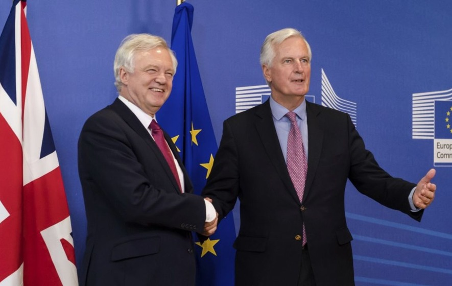 UK, EU's historic Brexit talks commence