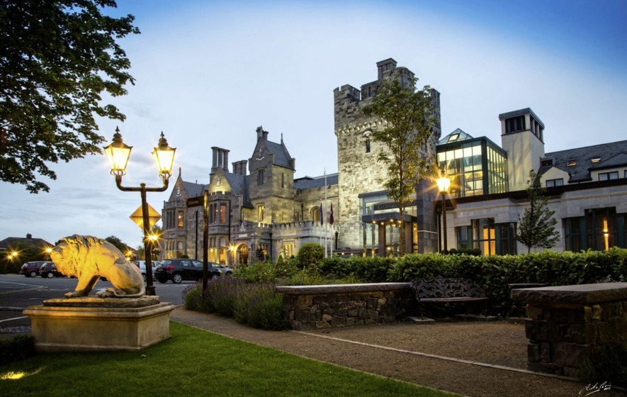 Dublin's Clontarf Castle hotel is a perfect base for a family trip back in time