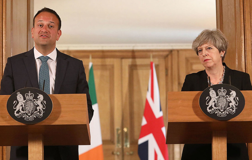 Northern Ireland politics hits PM May's coalition talks