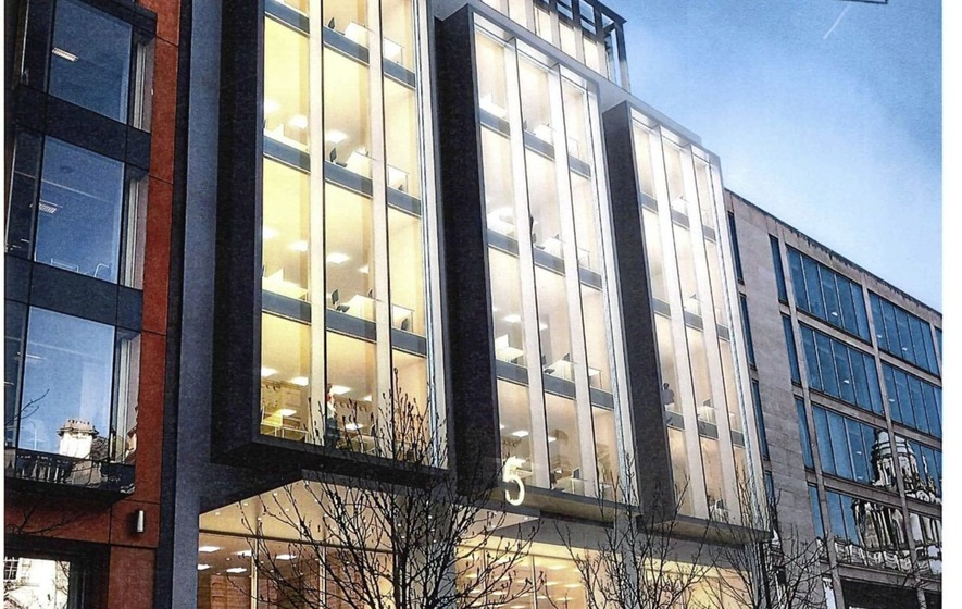 Belfast city centre office block plans downsized after council concerns