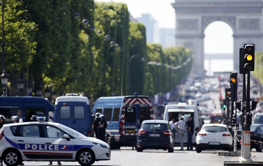 Here's what we know about the incident in Paris' Champs-Elysees so far