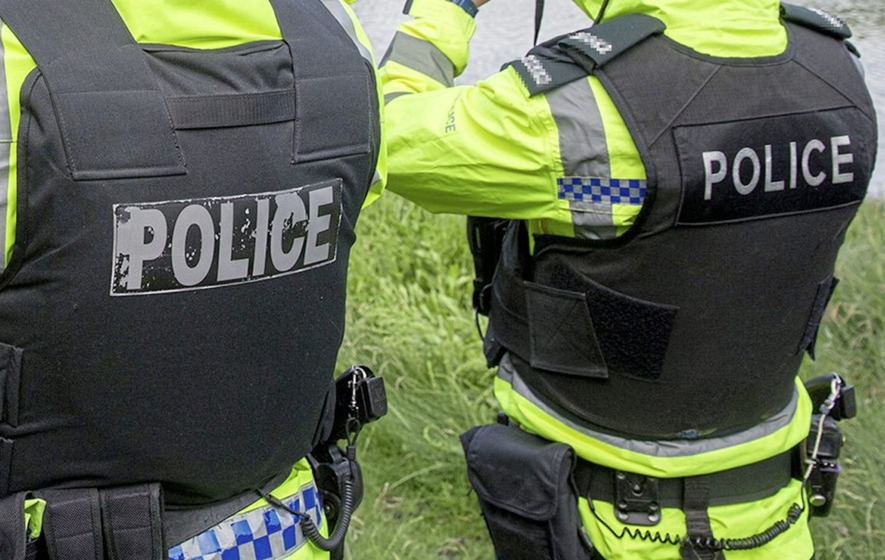 Man (35) arrested after armed robbery in Larne