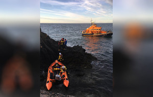 Video: RNLI Larne rescues five teenagers
