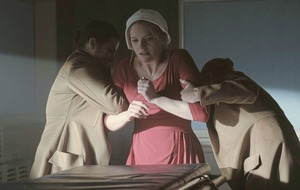 The Handmaid's Tale isn't just a feminist work says Elizabeth Moss