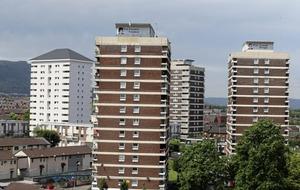 Housing Executive: Belfast cladding 'not same' as Grenfell Tower