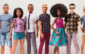 There's a new collection of diverse Ken dolls - including one with a man bun