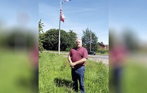Flying of Confederate flag in Lisburn 'a racist act', MLA says