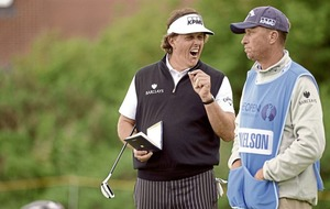 Phil Mickelson parts ways with caddie Jim 'Bones' Mackay