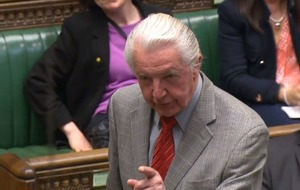 Dennis Skinner has made his annual quip at the State Opening of Parliament and it's a good one