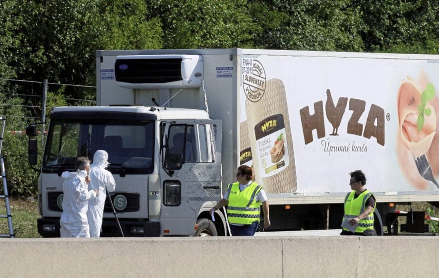 Men on trial in Hungary over deaths of 71 migrants in lorry