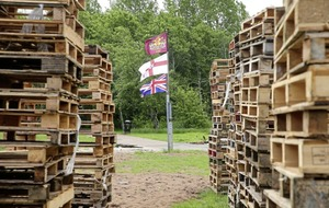 Belfast council storing 2,500 pallets for another bonfire site