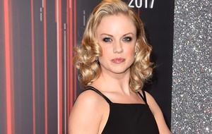 Strictly champion Joanne Clifton leaving the ballroom