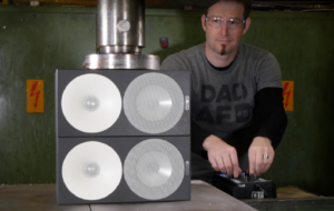 How does a hydraulic press work? YouTube's resident expert explains all