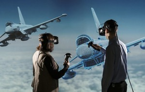 BAE is planning to use virtual reality simulators to train next-gen pilots