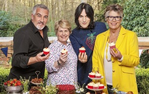Bake Off team take a break from filming as tent temperatures reach boiling point