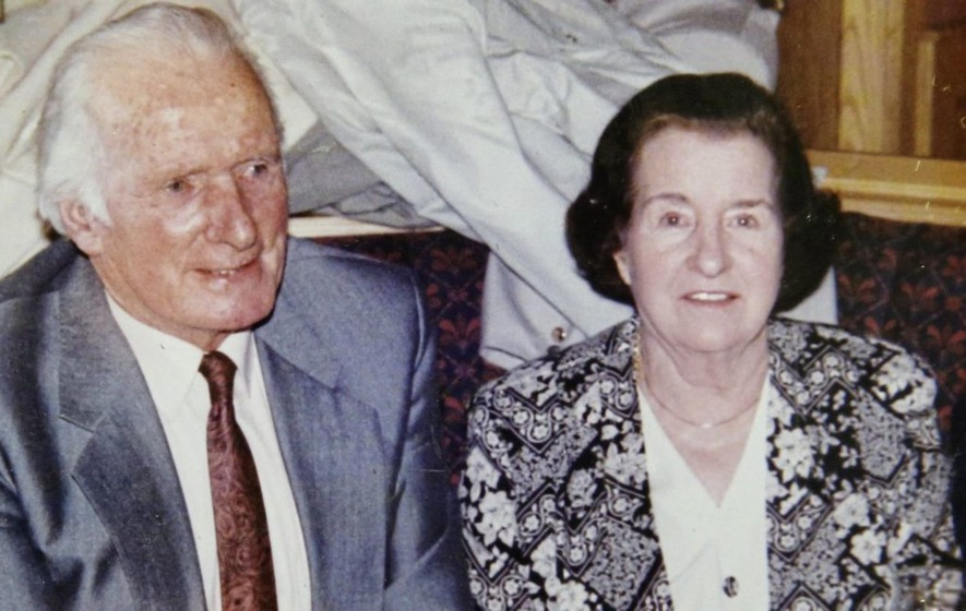 The late Myna McAlinden – Behind every great man is a great woman