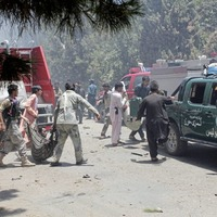 Dozens killed by suicide bomber outside Afghanistan bank