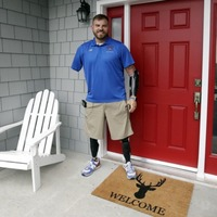 This quadruple amputee former soldier has opened a camp to help injured veterans