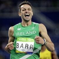 Thomas Barr heads Ireland team in Finland