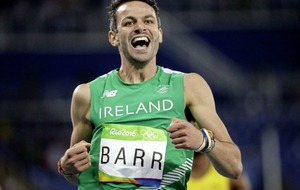 Thomas Barr heads Ireland team in Finland