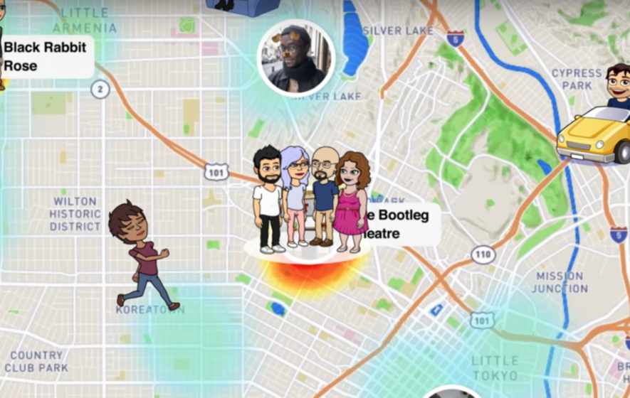 Snapchat's newest feature is here, but users aren't sure if it's cool or creepy