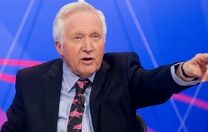 David Dimbleby kicked someone off Question Time and honestly 2017 couldn't get any more surreal
