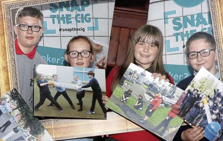 Four primary schools win iPads in anti-smoking competition