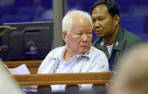 Former Khmer Rouge leader rejects charges against him as genocide trial ends
