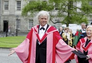 Bob Geldof receives honorary degree from Trinity College