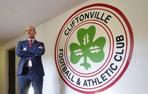 From humble beginnings Barry Gray is ready for the Cliftonville challenge