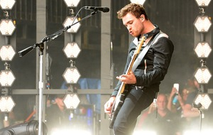 Royal Blood celebrate charts success at Glastonbury