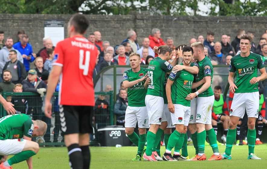 Cork City come from behind to take the points against Derry City