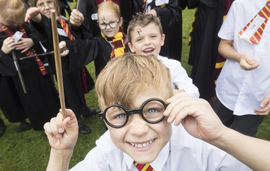 Bolton schools break world record for the most amount of people dressed as Harry Potter