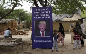 An Indian village is being named after Donald Trump to help fund new toilets