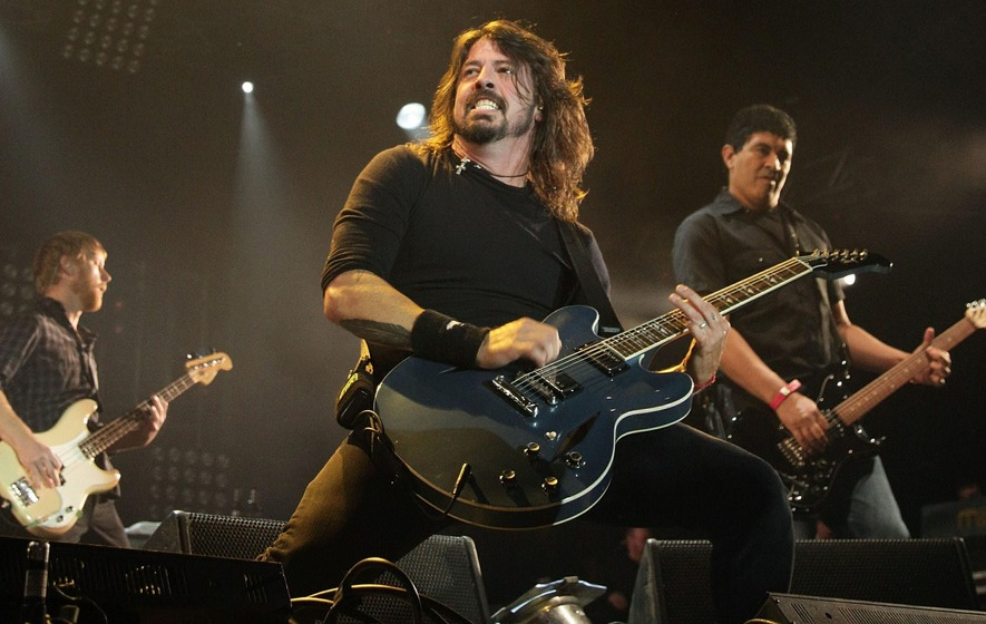 Dave Grohl thanks Florence Welch for filling in at Glastonbury