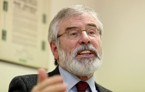 Gerry Adams: 'We need new approach to convince unionists about United Ireland'
