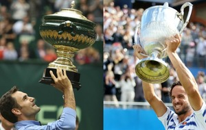 Roger Federer and Feliciano Lopez prove age is just a number in one Sunday afternoon