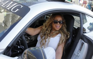 Mariah Carey jets to Azerbaijan for Grand Prix