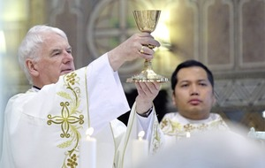 Crowds gather in west Belfast as Filipino deacon becomes the first non-national to be ordained into a diocese in Ireland