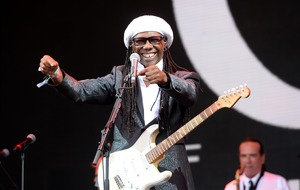 Chic's Nile Rodgers praises 'unreal spirit' of volunteers after Grenfell fire