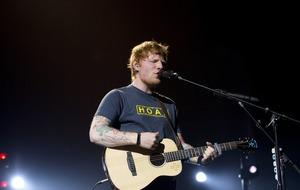 Ed Sheeran feeling the nerves as he headlines Glastonbury